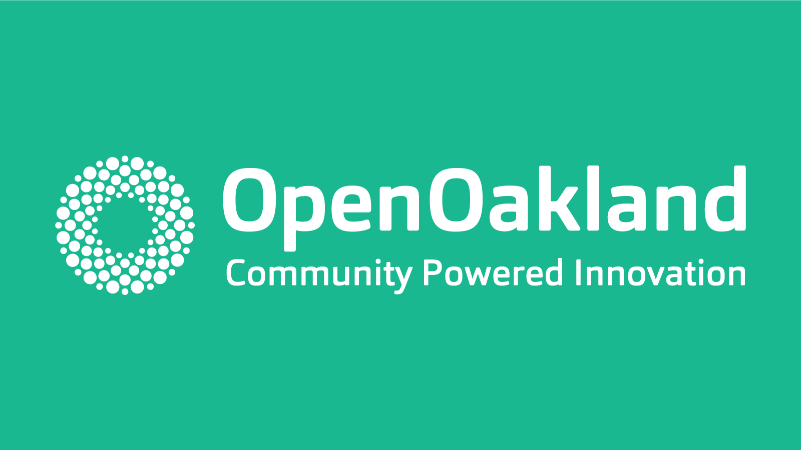 OpenOakland: The Code for America Brigade in Oakland