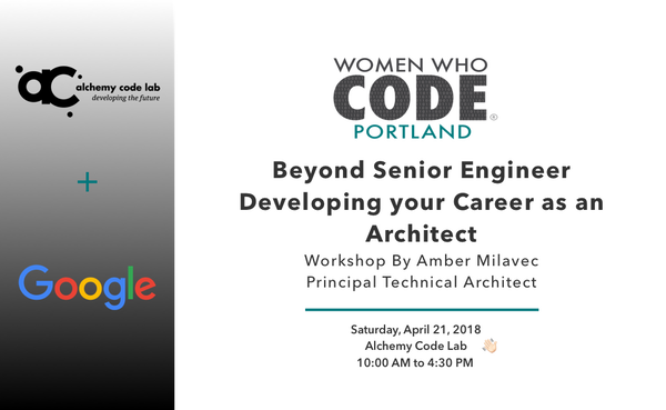 Workshop: Beyond Senior Engineer - Developing your Career as an
