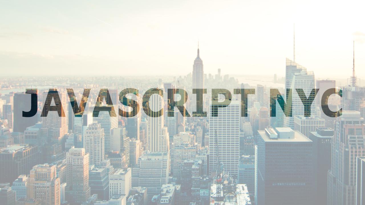 JavaScript.NYC