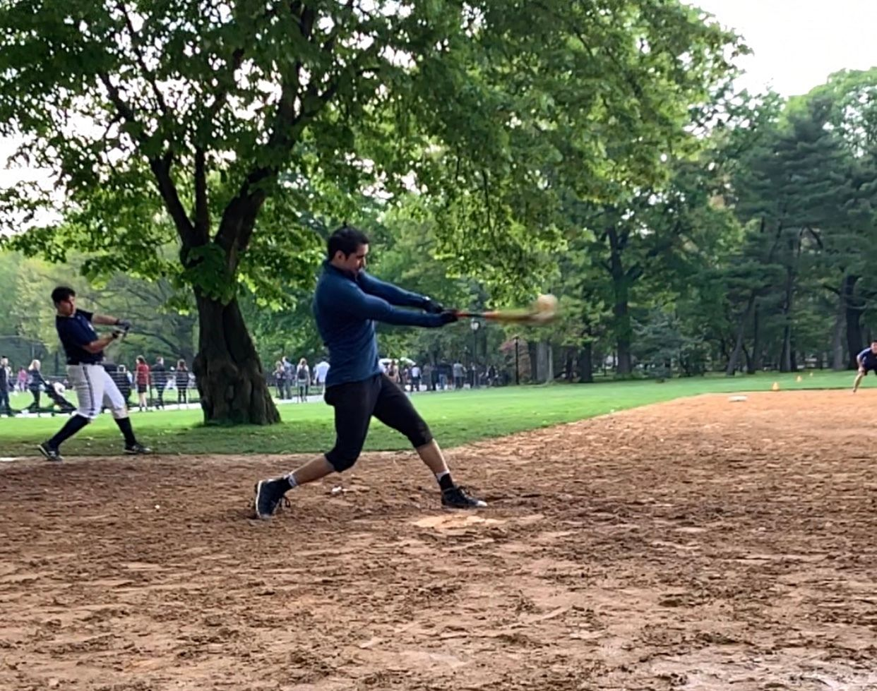 Central Park Saturday Afternoon Co-Ed Softball