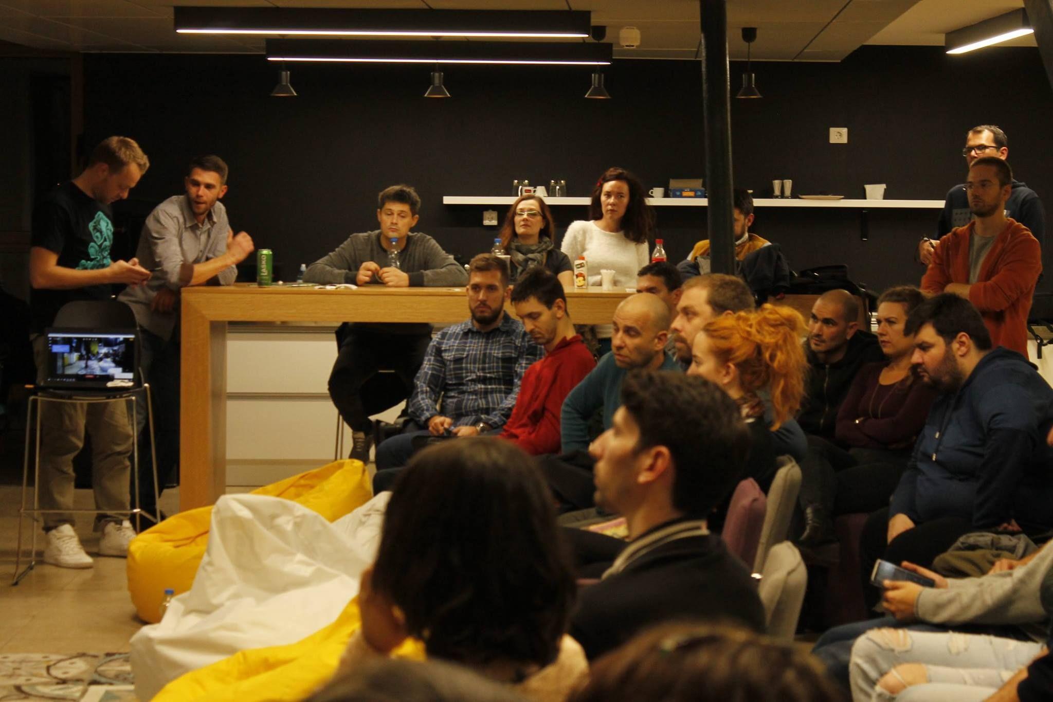 IxDA meetups @ Niš