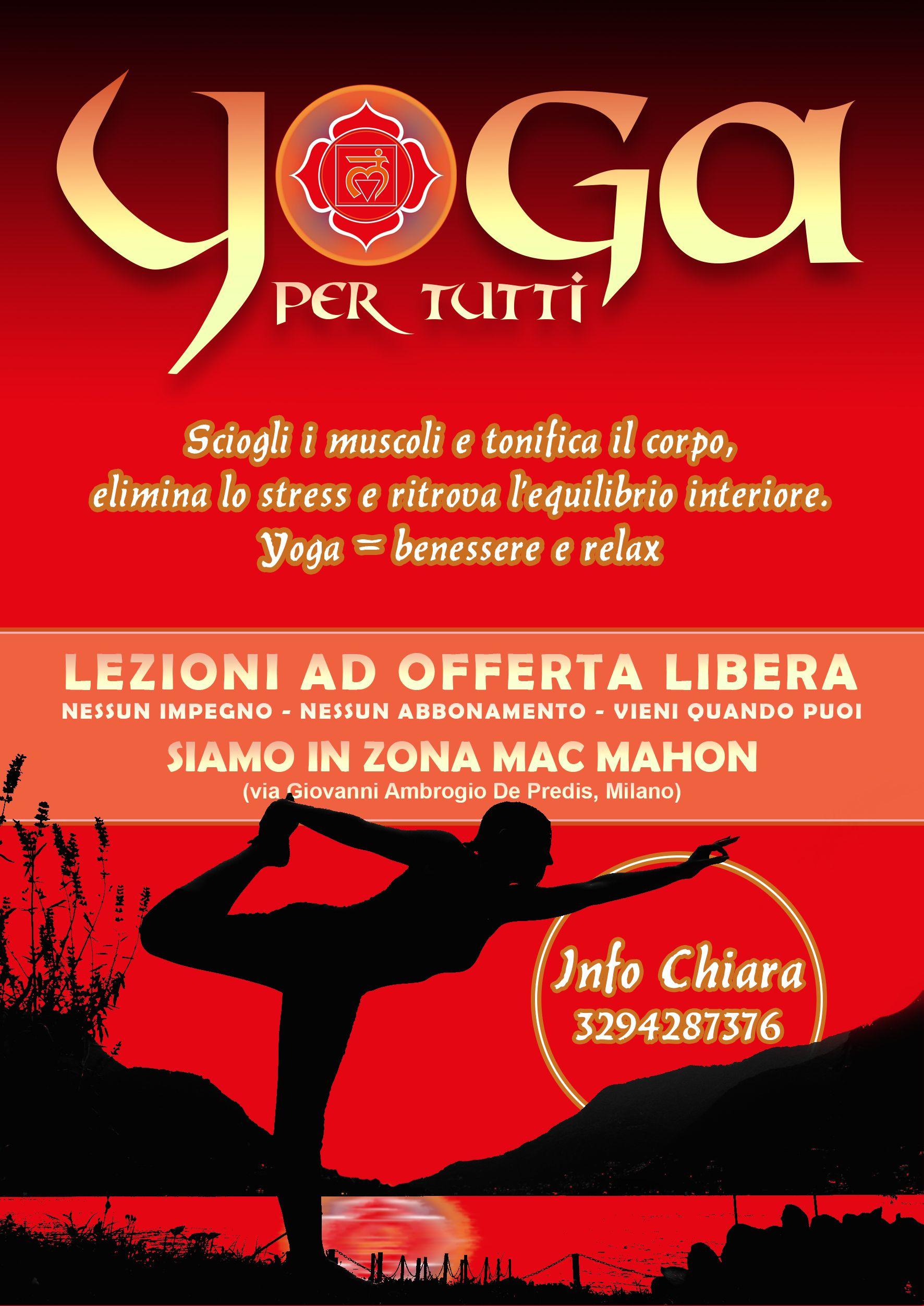 Yoga Per Tutti (offerta libera, zona via Mac Mahon - Milano)