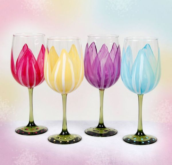 Paint Your Own Wine Glasses Party North Shore Women 39 S