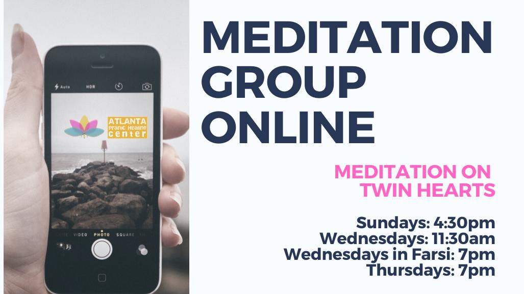 Meditation on Twin Hearts -New Location ( Virtual)