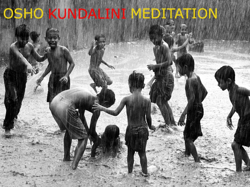 Weekly Tuesday Osho Active (Kundalini) Meditation and Discussions with Ravi