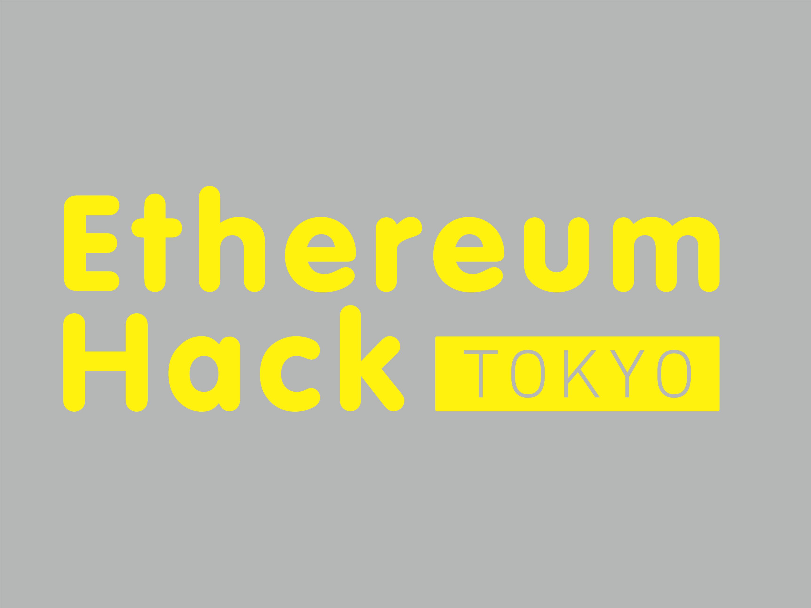 Ethereum Hack Tokyo