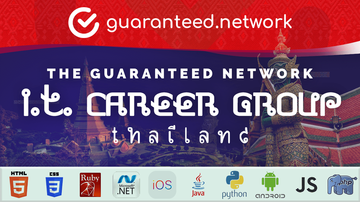 The Guaranteed Network's Thailand I.T. Career Group