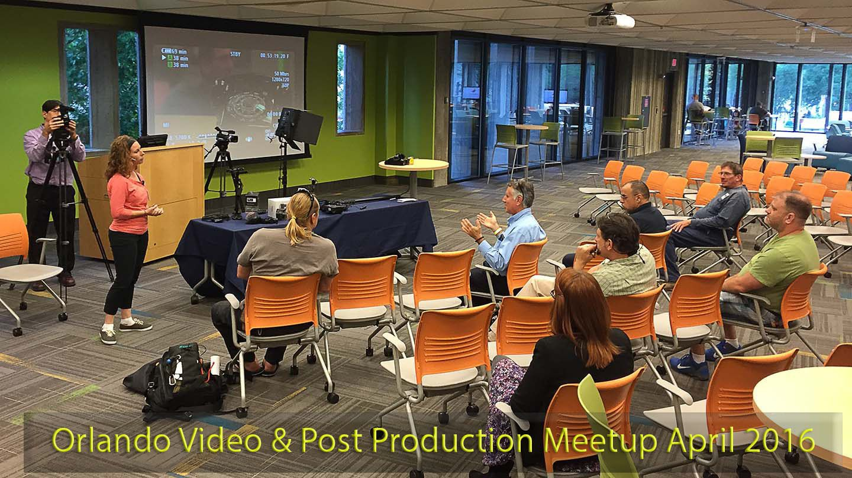 Orlando Video & Post Production Meetup