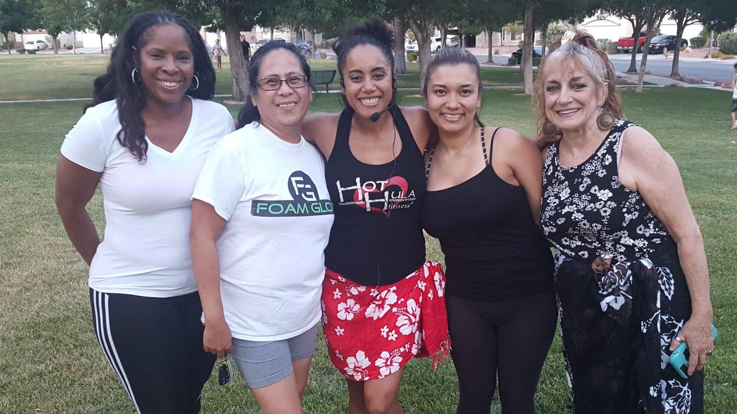 HOT HULA Fitness with 'Lady' Lena