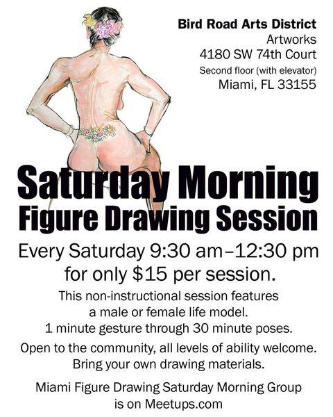 Miami Figure Drawing Saturday Morning Group (Miami, FL)   Meetup
