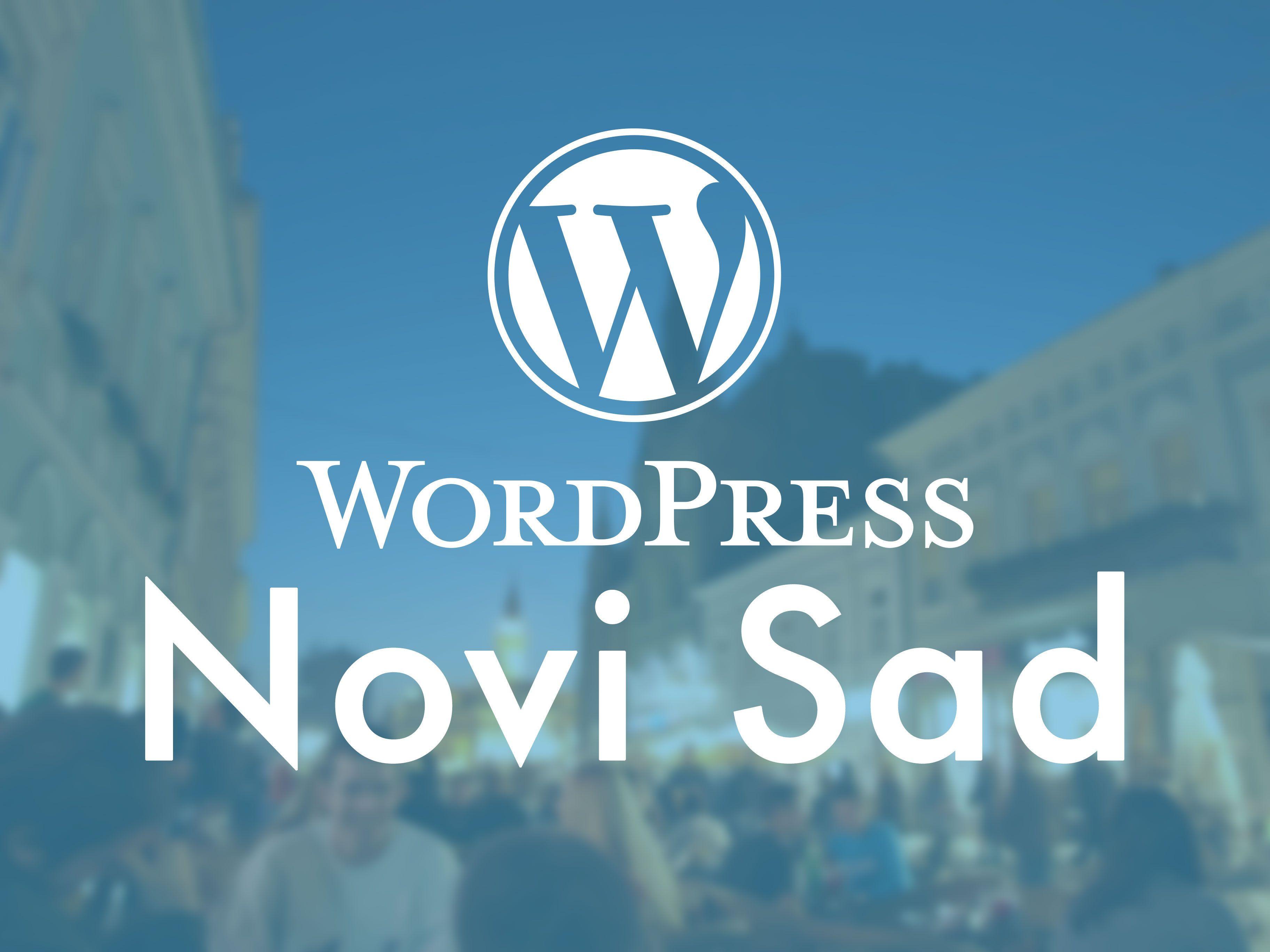 WP Meetup Novi Sad