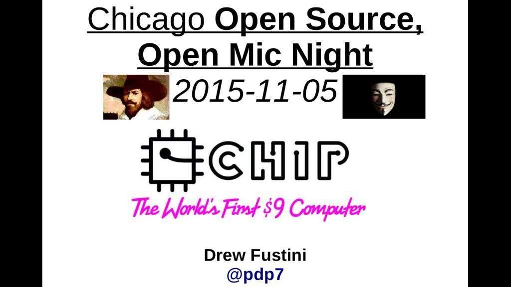 Chicago Open Source, Open Mic