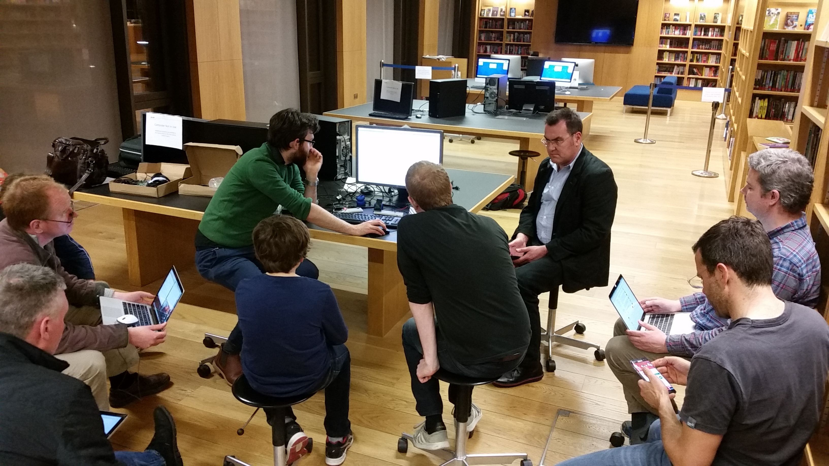 Dun Laoghaire LexIcon Library Maker Drop in evenings
