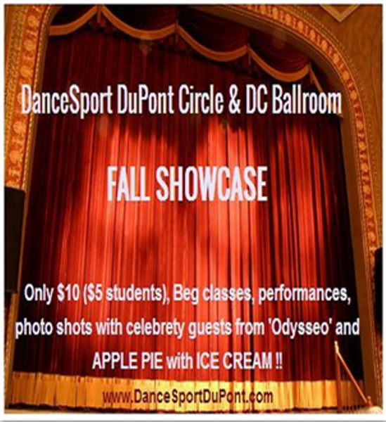 Sat, Nov 16 DanceSport DuPont Circle & DC Ballroom 'Studio