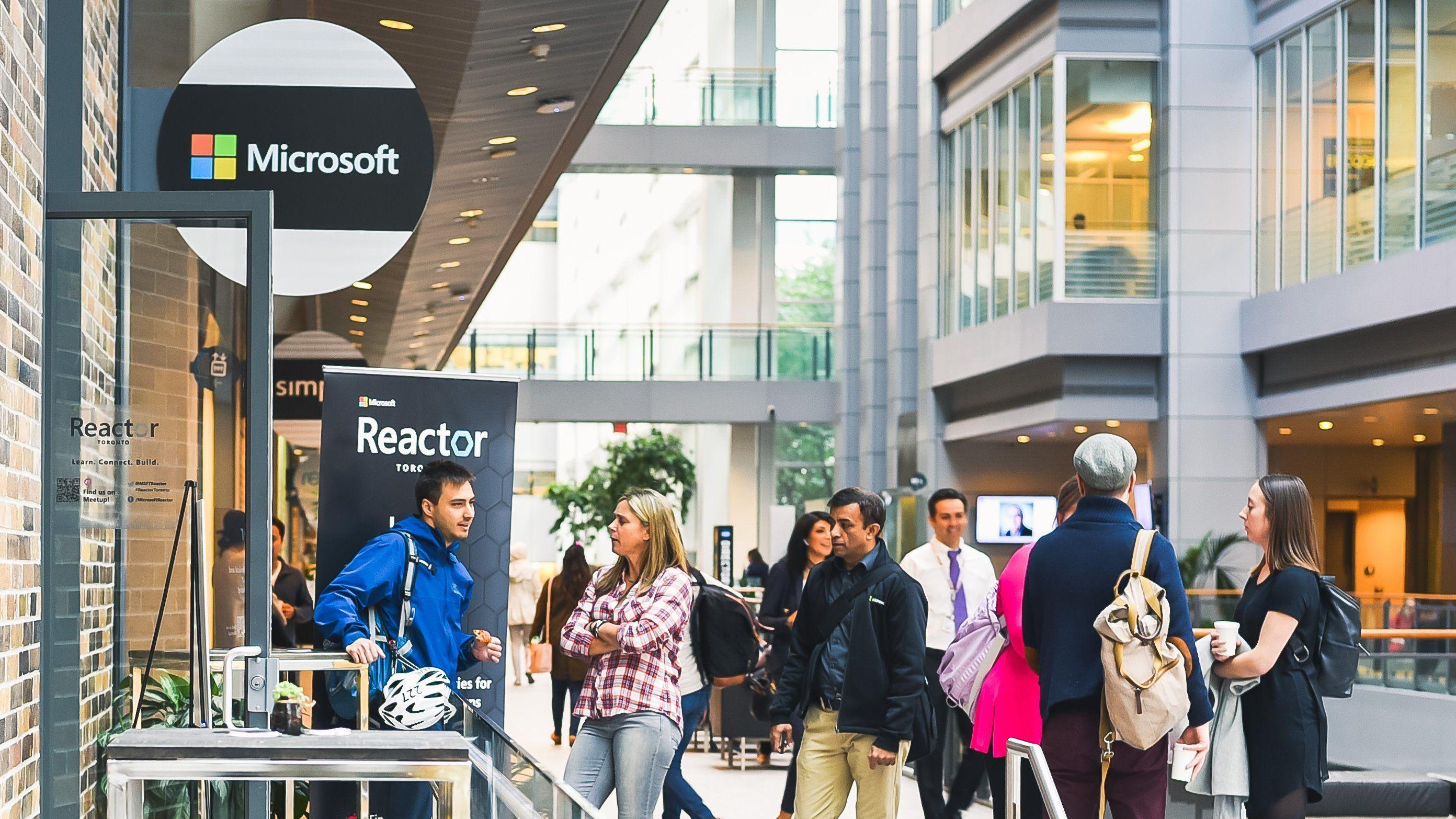 Microsoft Reactor Toronto