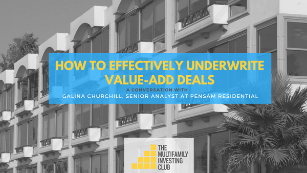 How to Effectively Underwrite Value-Add Deals | Meetup