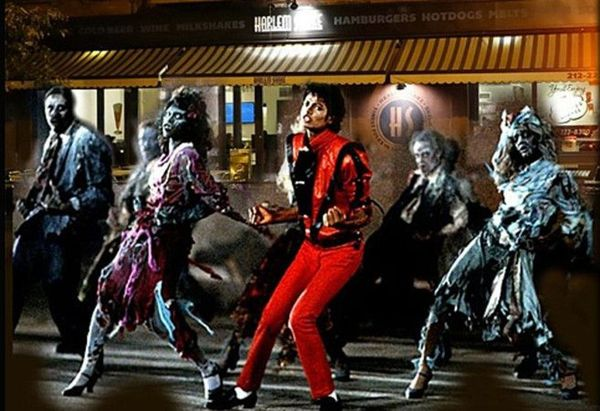 Thriller Dance Workshop & Flashmob for Halloween ... Michael Jackson Thriller Video Dance