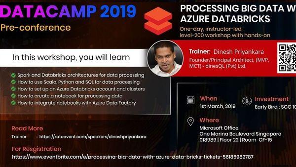 Singapore DataCamp 2019 - Precon on
