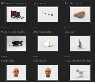 FREE 3D models and UNITY assets - Dallas Unity Group (Dallas
