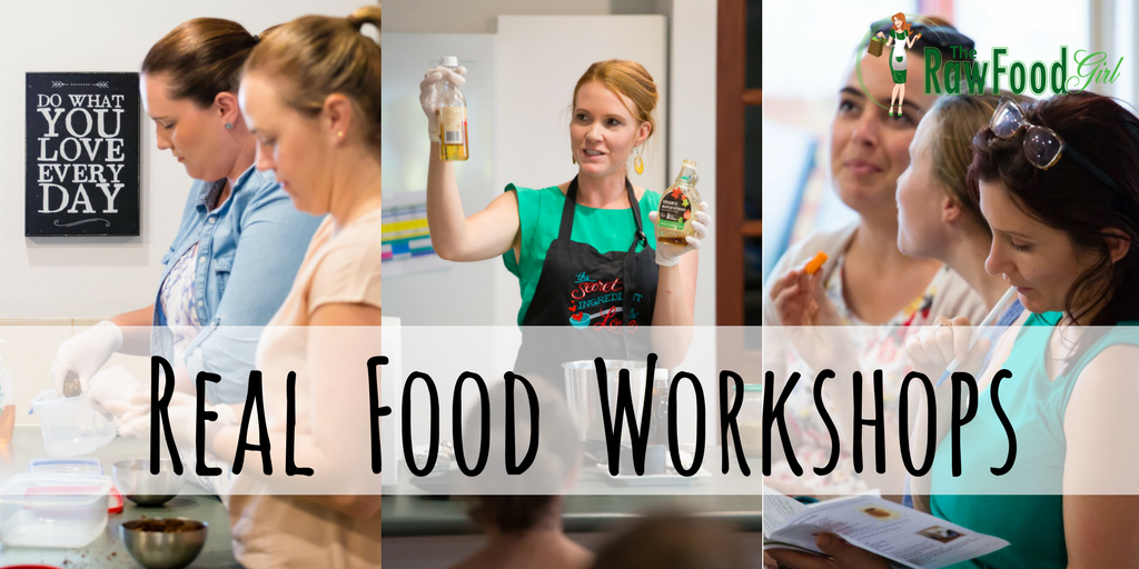 The Raw Food Girl's 'Real Food' Workshops
