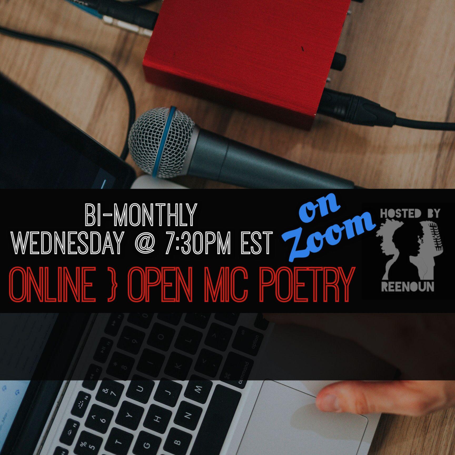 Open Mic Poetry Meetup