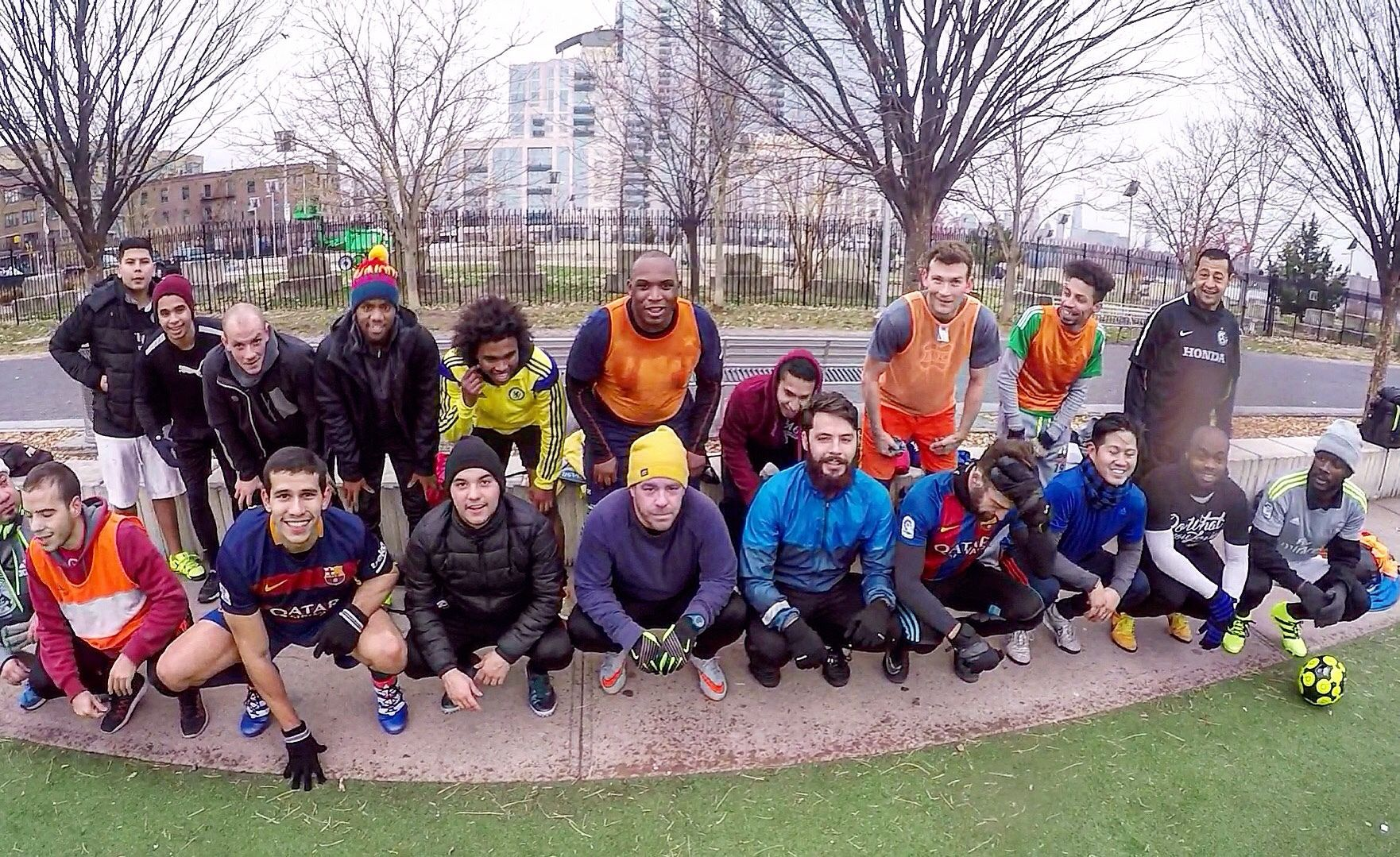 First Touch FC: Morning soccer in Williamsburg