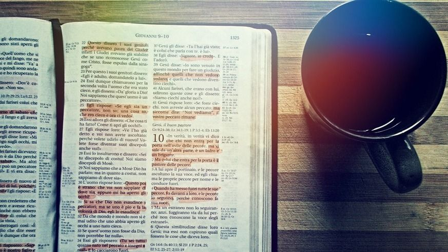 Coffee and Christ, Bible and Bagels