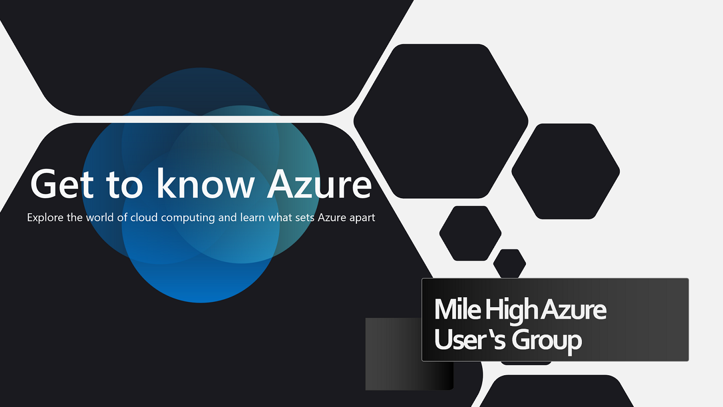 Mile High Azure User's Group