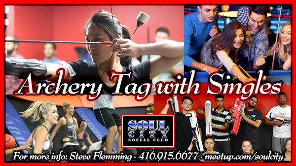 Archery Tag with Singles (Pool, Games, Comedy Shows)