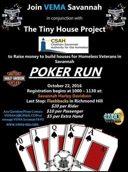 Poker run richmond hill ga