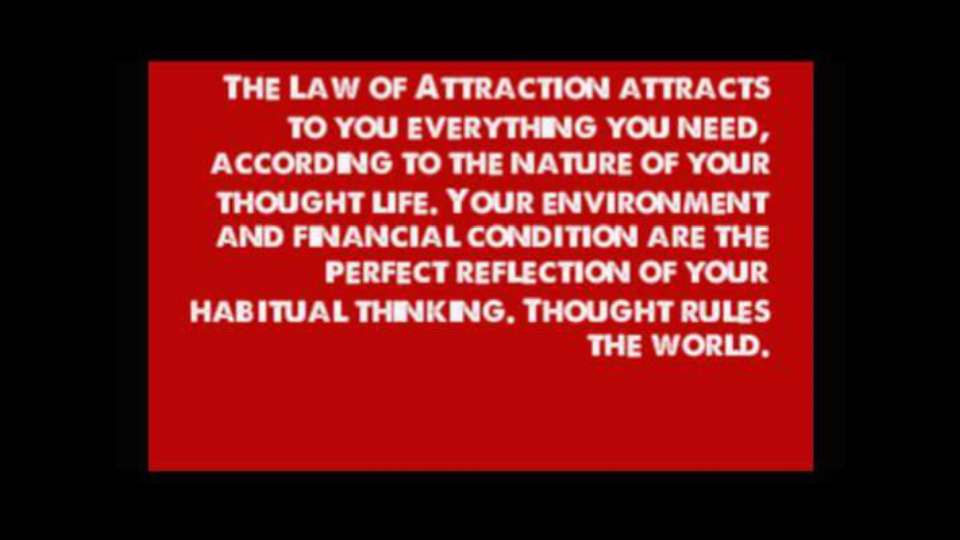 LAW OF ATTRACTION LONG ISLAND