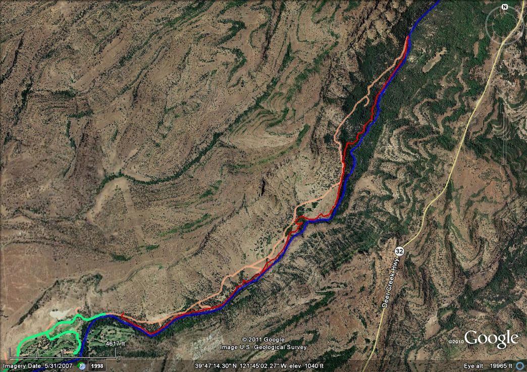 Upper Yahi Trail in Bidwell Park: Interpretiv
