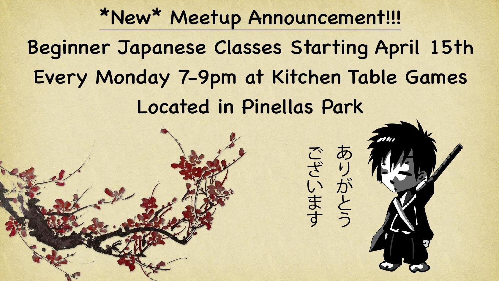 Tampa Bay Japanese Language Classes