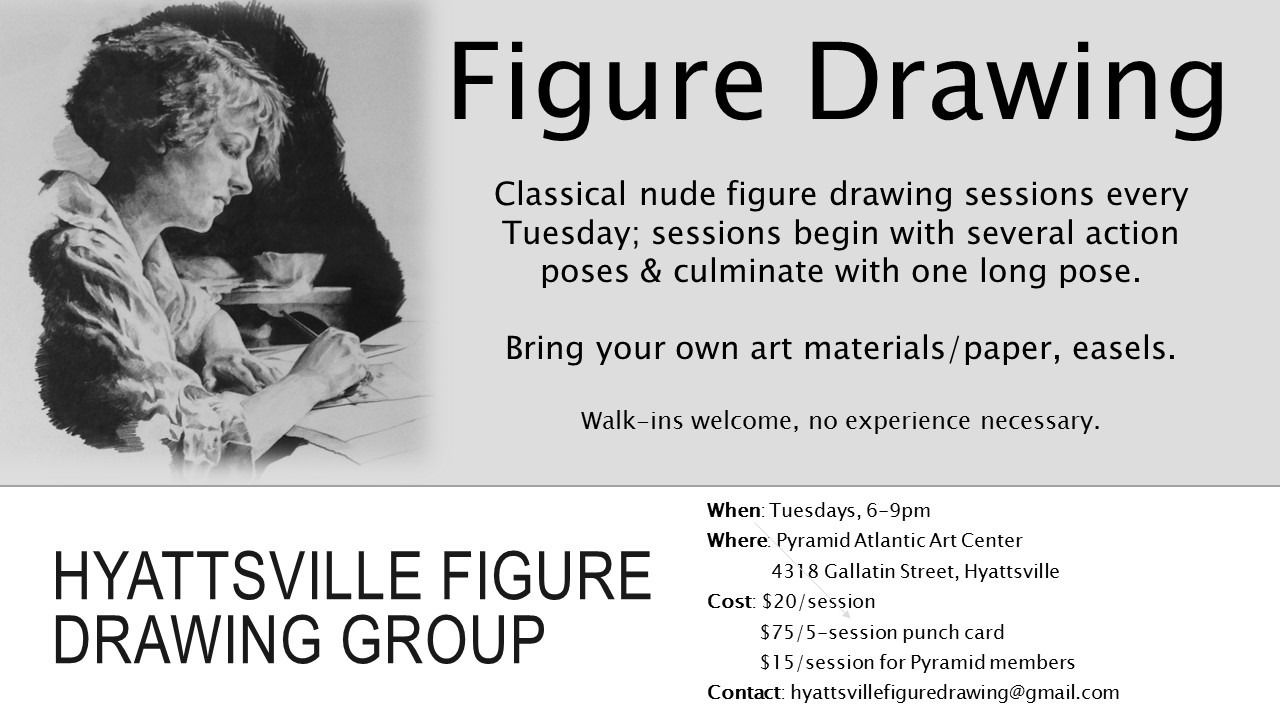Hyattsville Figure Drawing Group Meetup