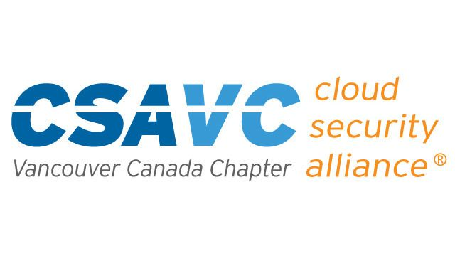 Vancouver Cloud Security Alliance Meetup