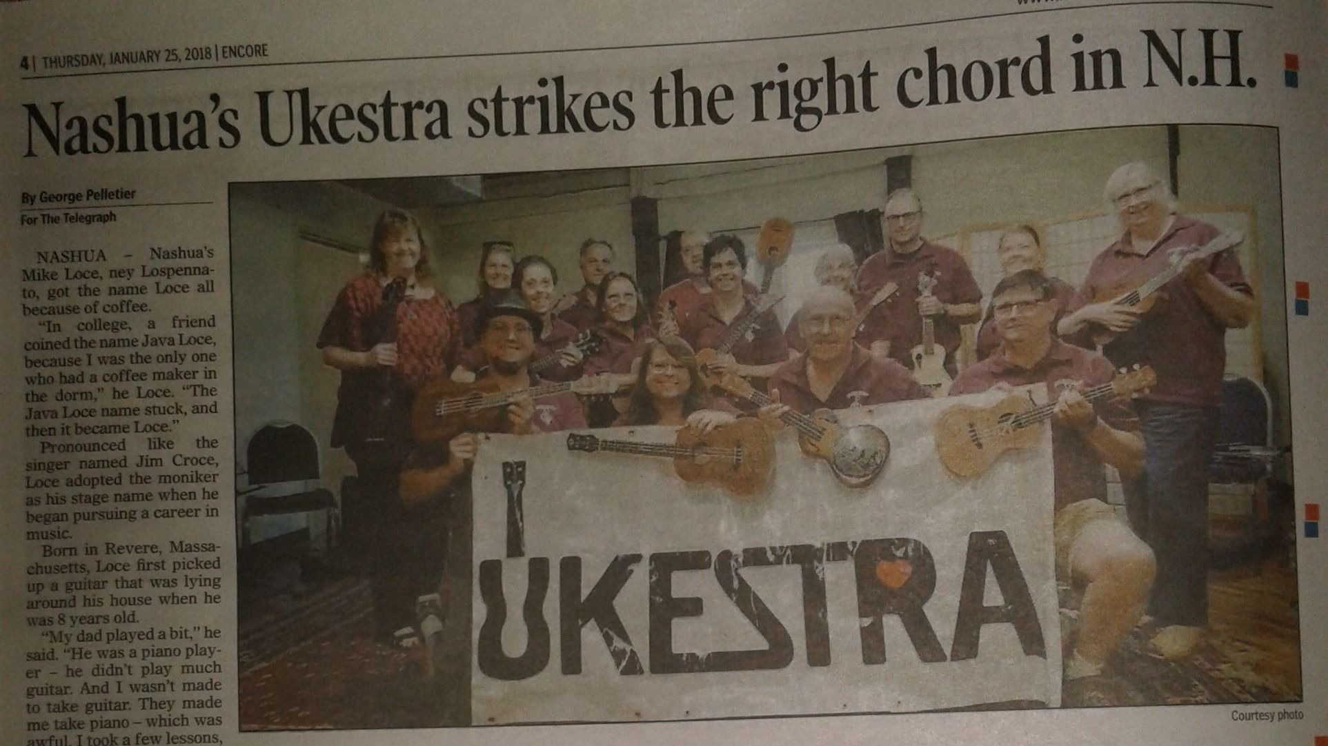 The UKESTRA with Mike Loce
