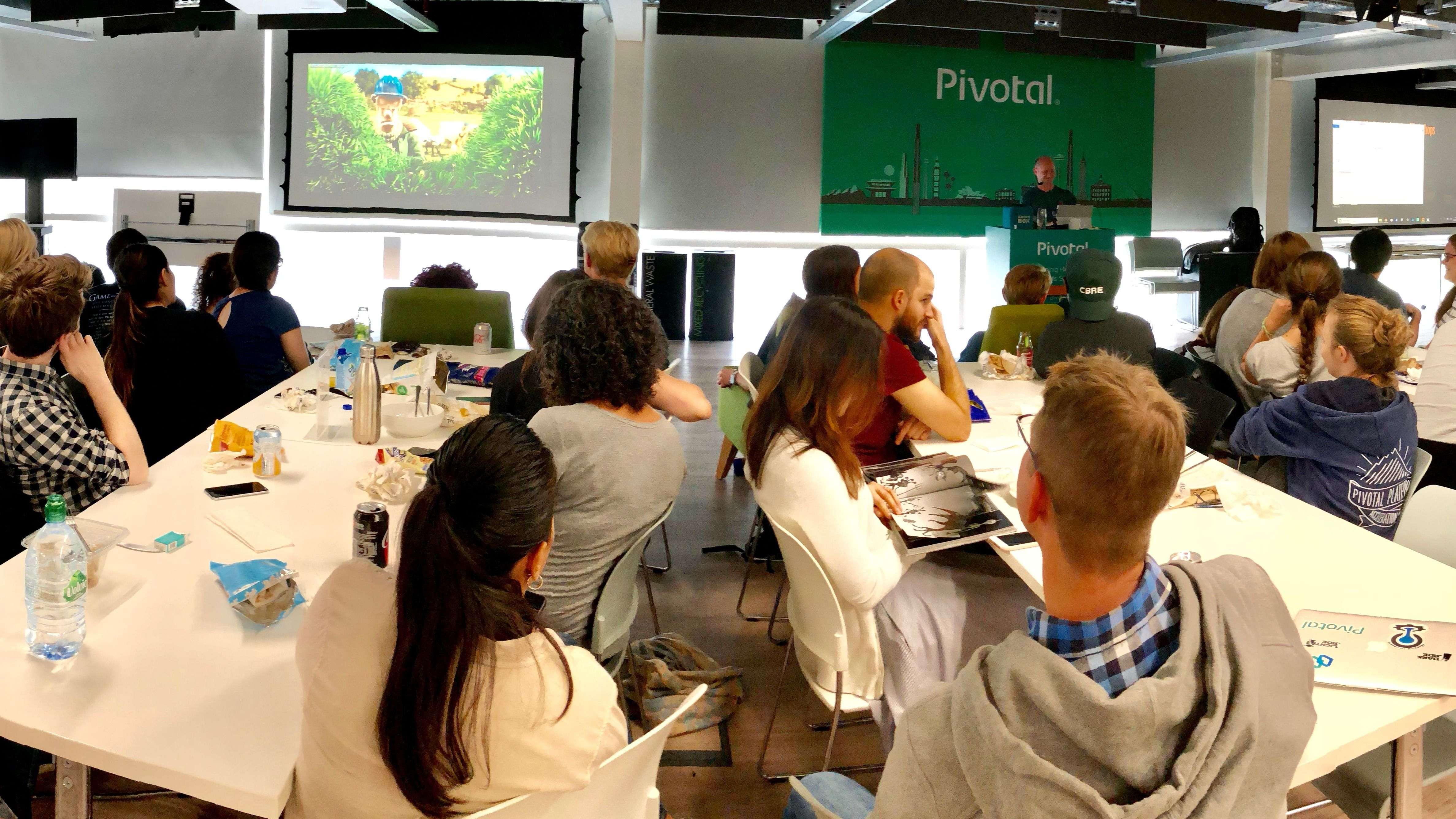 Pivotal Lunch & Learn