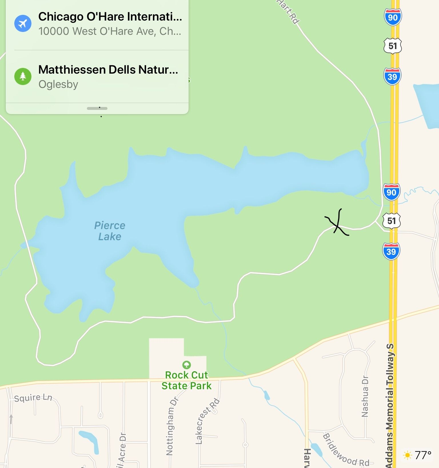 Thursday hike at Rock Cut State Park - 30 AUG 2018