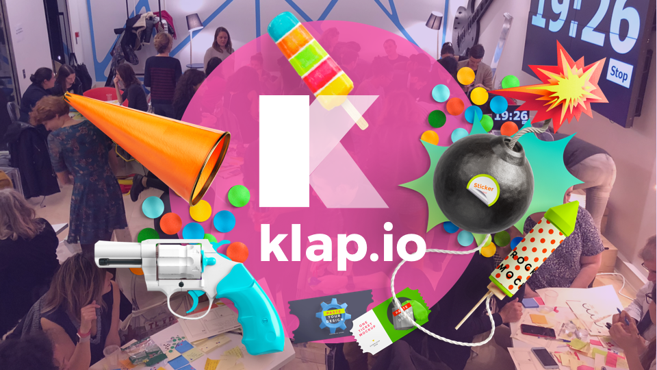 Design Thinking 💥 Make it KLAP 💥