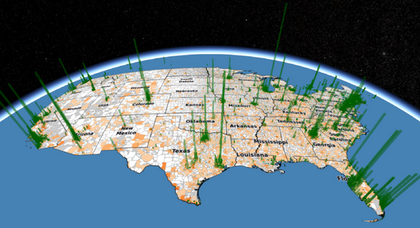 Introduction to 3D GIS in the Browser: Cesium js, Mapnik and PostGIS
