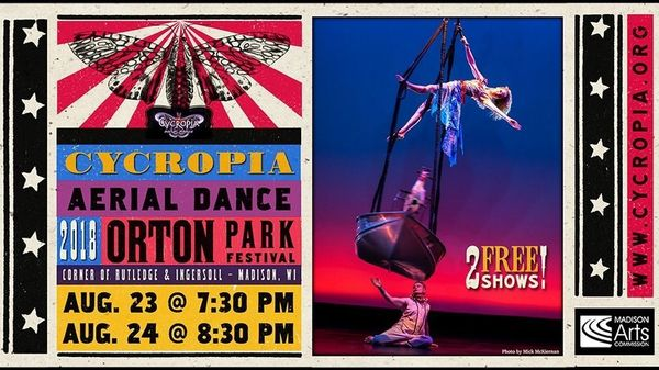 Cycropias Performance At Orton Park >> Orton Park Fest People Brothers Band Cycropia Aerial Dance Meetup