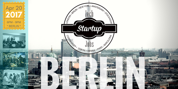 tech startup job fair berlin spring 2017 techmeetups. Black Bedroom Furniture Sets. Home Design Ideas