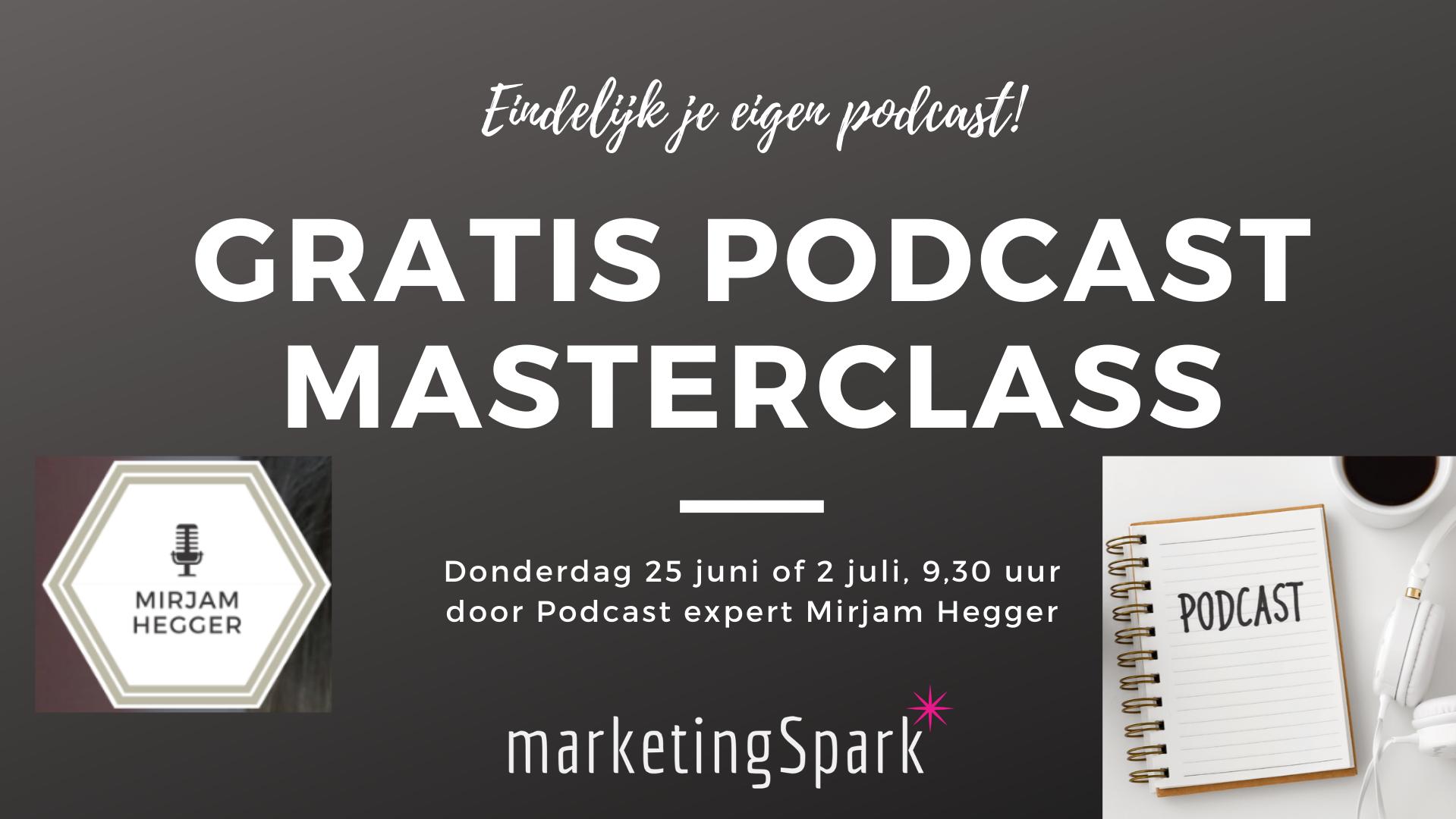 Gratis Podcast Masterclass