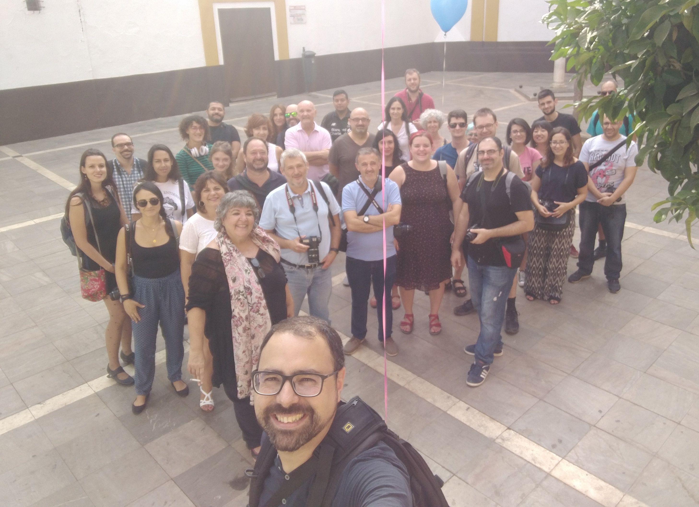 Sevilla Photowalks | Fotografía en grupo por Sevilla