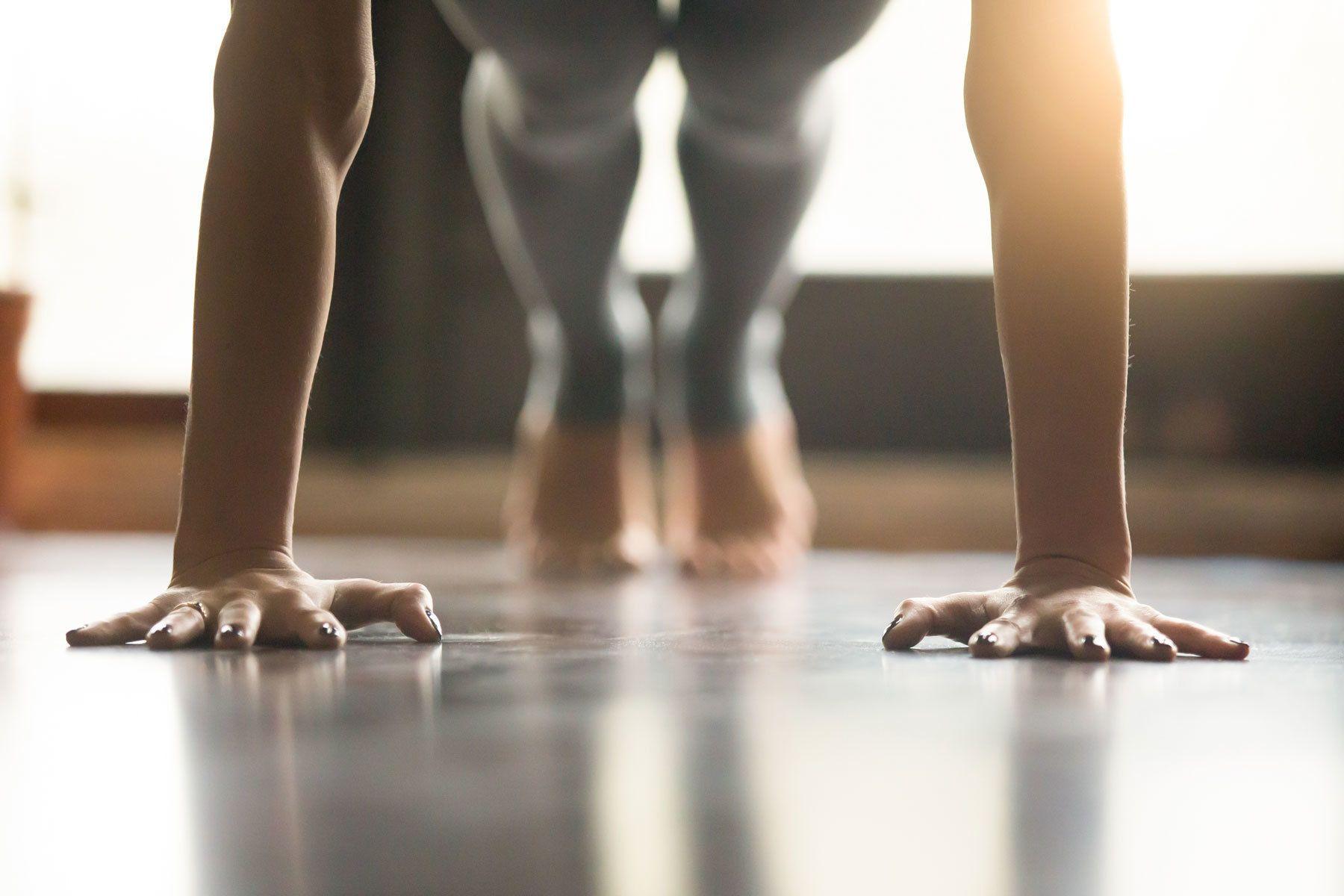 Hatha Yoga Improvisation mit Elena