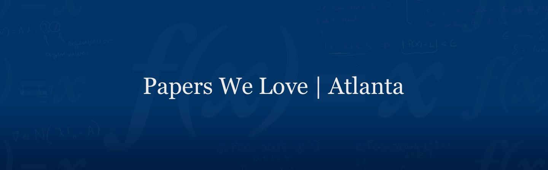 Papers We Love Atlanta