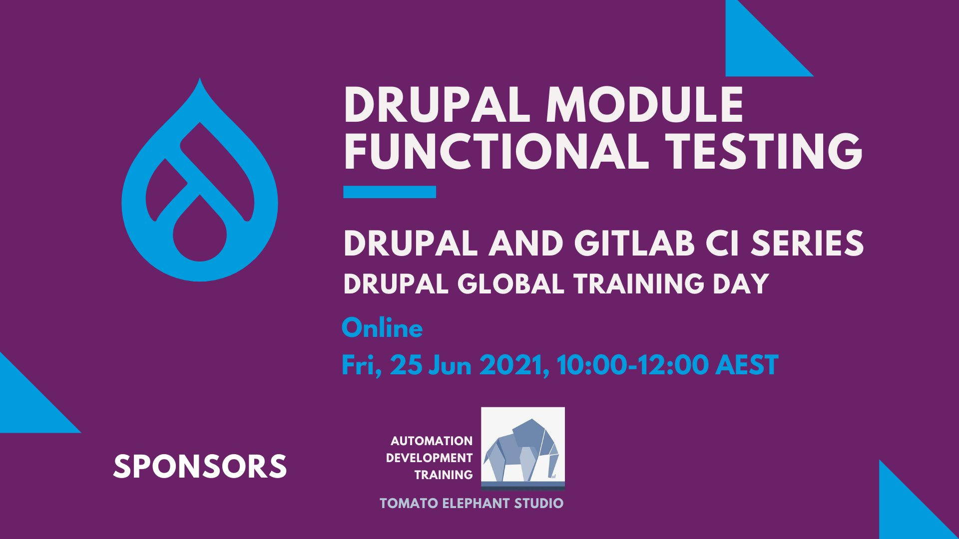 Training: Drupal module quality assurance (Drupal and Gitlab CI series)
