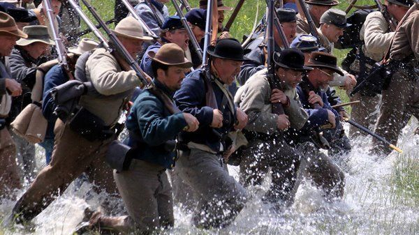155th Anniversary of the Battle of New Market - Reenacment