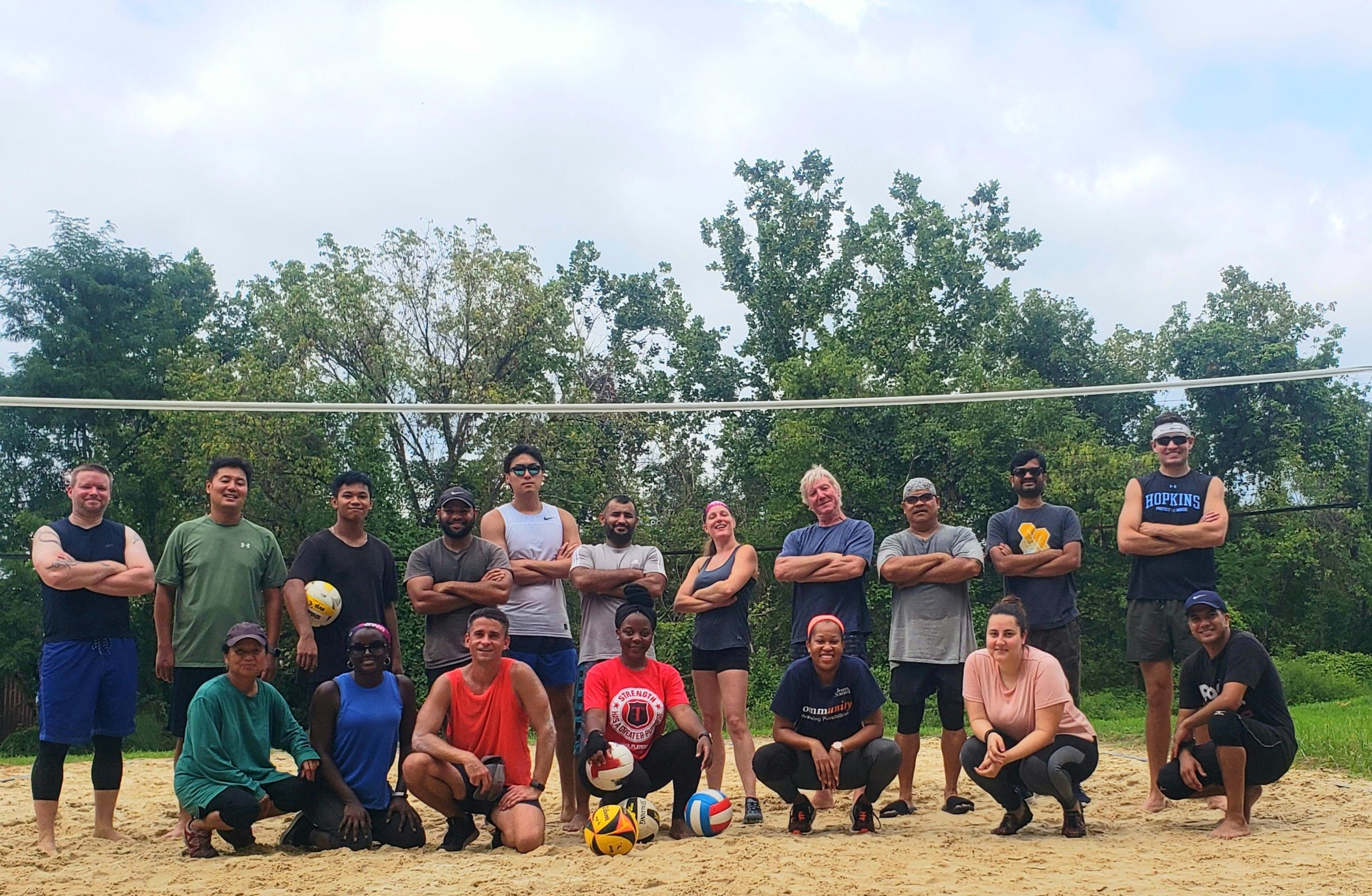 Volleyball Sand-Wed: Beginners/adv beginners