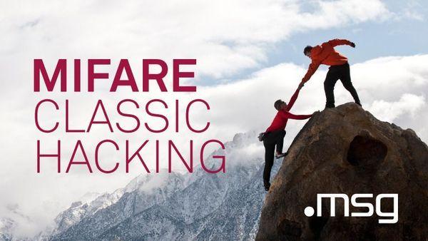 Mifare Classic Hacking | Meetup